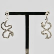 Drop Earrings Silver 925 Wings of Butterfly by Maria Ielpo Made in Italy image 2