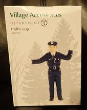 Department 56 Village Accessories Traffic Cop #4057575 - $14.80