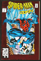 SPIDER-MAN 2099 #1 Marvel Comics 1st Series & Printing 1992 Metallic Cover - $7.91