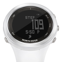 NORTH EDGE RANGE-W Digital Watch Rechargeable Battery Compass Swimming Fishing M image 2