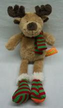 "Hershey's REESE'S HOLIDAY CHRISTMAS REINDEER 12"" Plush STUFFED ANIMAL Toy - $16.34"