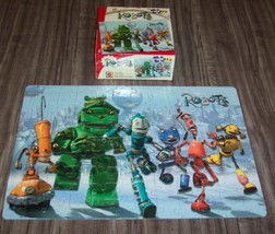 Mattel ROBOTS THE MOVIE JIGSAW PUZZLE 100 Pieces With Box 2005 - $14.85