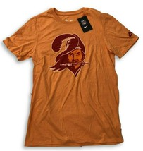 New NWT Tampa Bay Buccaneers Nike Tri-Blend Historic Logo Size Small T-S... - $22.15