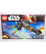 Lego Star Wars Ep 7 Force Awakens 75102 Poe's X-Wing Fighter New in Seal... - $109.99