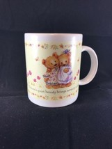 Hallmark Mug Serenity Bears Coffee Gourmet Gifts Houston Harvest 1834P1 - $14.84