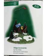 DEPT 56 GENERAL VILLAGE Accessories ANIMATED GO FLY A KITE Mint in Box Xmas - $36.47