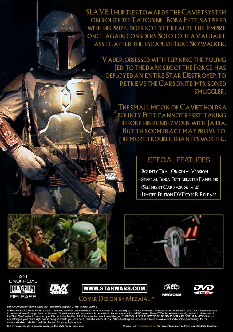 Star Wars Bounty Trail Boba Fett Fan Made Star Wars DVD Movie. image 2