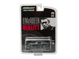 """1968 Ford Mustang GT Fastback Green \""""Bullitt\"""" (1968) Movie 1/64 Diecas... - $14.28"""