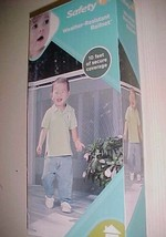 Safety 1st  Baby Weather-Resistant Railnet 10 Feet Item No. 11796 New - $24.74