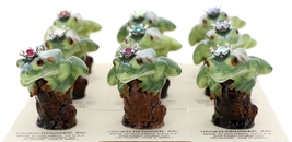 Hagen-Renaker Miniature Tree Frog Figurine Birthstone Prince 12 December Zircon image 5