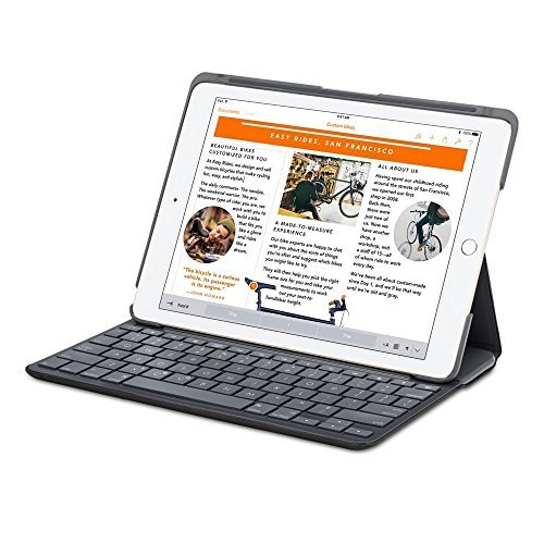 Primary image for Logitech Canvas Wireless Bluetooth Keyboard Folio Case Apple iPad Air 2 - Black