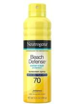 Neutrogena SPF 70 Beach Defense Sunscreen Water+Sun Protection 6.5 oz exp. 10/21 - $10.59