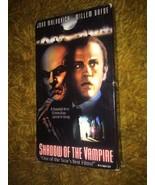 RARE Canadian Import Shadow of the Vampire VHS Tape John Malkovich Horror - $12.78