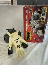 Vintage Ideal Robo Force Command Patroller Giant vehicle toy 1984 RARE w box - £89.95 GBP