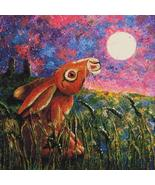 Holmsey Hare Stargazing cross stitch chart Pain... - $18.00