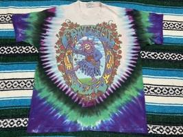 Vtg 1993 Liquid Blue Grateful Dead Endless Tour Tie Dye TShirt Jester XL... - £196.85 GBP