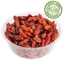Organic Spice Dry Chile Peppers Kosher Dried Red Chilies Pure Israel Sea... - $12.87+