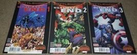 Marvel Comics Ultimate End 1 2 3 NM Spiderman Hulk Captain America book ... - $0.99