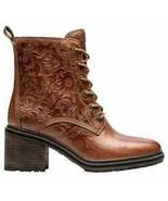Timberland Women's Sienna High Waterproof Side Zip Boots Rust EMBOS TB0A... - $119.99
