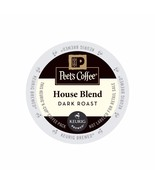 Peet's Coffee House Blend Coffee, 88 count K cups, FREE SHIPPING !! - $68.99