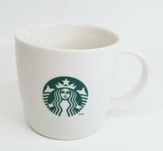 Starbucks Coffee Mug Tea Cup White 12 oz. Mermaid Green Siren Logo 2013 ... - $12.76