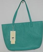 Madison West Product Number BGW10511 Extra Large Turquoise Shoulder Bag In Bag image 1