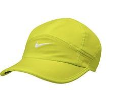 Nike Unisex Dri-Fit Feather Light Adjustable Hat Cap Volt / White #61396... - $24.99