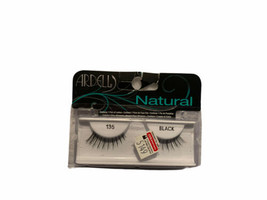Ardell Fashion Lashes - Natural Lashes [135] Black 1 Pair - $6.15