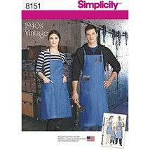 Simplicity Creative Patterns Simplicity Pattern 8151 Vintage Aprons for ... - $13.23