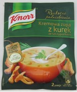 KNORR Creamy Chanterelles mushroom soup with chives - Made in Poland - $2.96