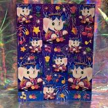Vintage 90s Lisa Frank Complete Full Sticker Sheet Rare Elephant John HTF S245