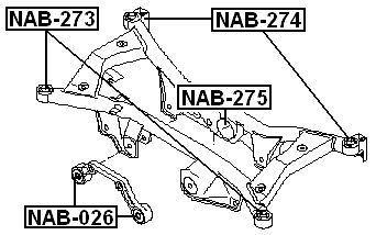 arm bushing rear arm for nissan x trail and 50 similar items Suspension Bar Bushing Pin arm bushing rear arm for nissan x trail t30 2000 2006 oem 55400