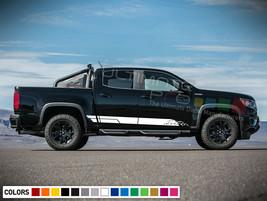 Decal Sticker Stripe Kit for Chevrolet Colorado Radiator Shade Mesh Bed Ramp arm - $40.07+