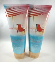 (2) Bath & Body Works Endless Weekend 24hr Moisture Ultra Shea Body Crea... - $18.98