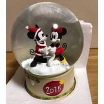 Tokyo Disney Magasin Limitée Mickey Mouse & Minnie Neige Globe Dôme 2016 Japon - $63.49