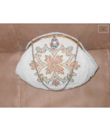 Vintage 1930's Pastel Beaded Evening Purse made in France for WALBORG - $132.66