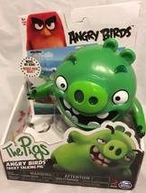 Angry Birds - Tricky Talking Pig - Green  Action Figure New - $12.86
