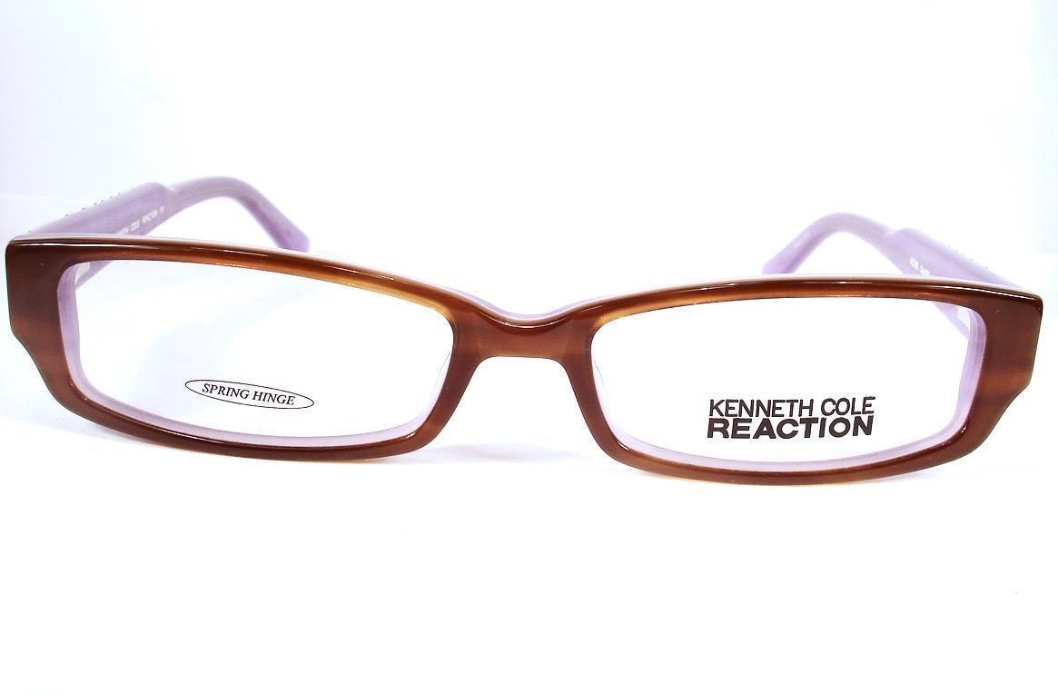 da29965552 Kenneth Cole Reaction Eyeglass KC 702 Brown 053 Women Frames New 52-16-135