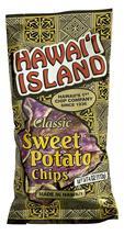 Hawaii Island Gourmet Atebara's Purple Sweet Potato Chips - $13.99 - $108.00