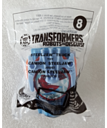 McDonalds 2016 Transformers Robots In Disguise No 8 SteelJaw Truck Hasbr... - $8.99