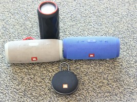 AS-IS For Parts Lot of 4 Bluetooth Speakers - $64.99