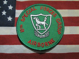 US Army 10th Special Forces Group Airborne Pocket Patch m/e - $7.00