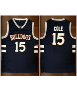 Jermaine Cole #15 Bulldogs High School Basketball Jerseys J.Cole Shirt - $33.00