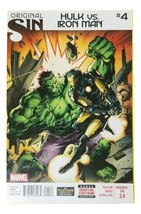 Original Sin: Hulk vs. Iron Man Comic Books #4 Marvel comics Near Mint condition - $5.50