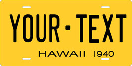 Hawaii 1940 License Plate Personalized Custom Auto Bike Motorcycle Moped Key Tag - $10.99+