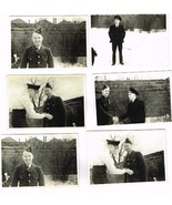 Six WWII Snapshots Canadian  Air Force ? Personel - $1.50