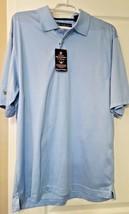 NWT Men's Oxford Golf Super Dry Mercerized Cotton Blue Golf Polo Shirt M... - $22.99