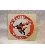 "Vintage 1970's Baltimore Orioles Baseball Sticker 3"" Unused - $3.95"