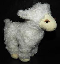 Sweetfeet White Sheep Lamb Baby Gund Stuffed Animal Toy Lovey Sweet Feet... - $14.80