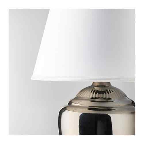"IKEA RICKARUM Table lamp, White shade, SIZE 19"", 3 different colors"